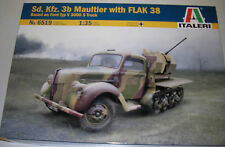 Italeri - 6519 - Sd. Kfz. 3b Maultier With FLAK 38 - 1:35 Plastic Kit/Wargaming