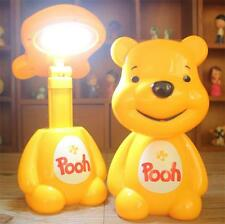 Winnie Pooh LED Energy-Saving Charging Table Desk Lamp Light Scalable Lamp Gift