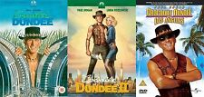 CROCODILE DUNDEE TRILOGY COLLECTION PART 1 2 LOS ANGELES MOVIE NEW UK R2 DVD