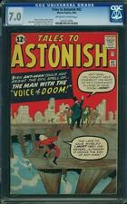 TALES TO ASTONISH # 42  US MARVEL 1963 ANT MAN   CGC 7.0 FN-VFN