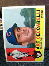 1960 TOPPS # 156 Art Ceccarelli----...Near Mint        ................RB1501