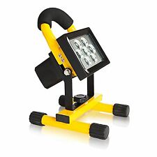 7 High Power LED Rechargeable and Portable Spotlight-Flood light