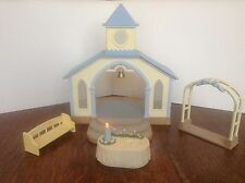 Sylvanian Families Wedding Chapel With Light Up Altar