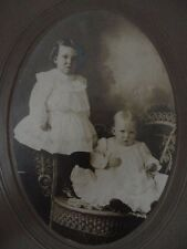 Instant Family in frame Cabinet Card Baby Children Toddler Jerrod and Hazel