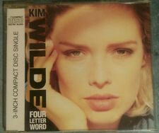 "KIM WILDE - Four letter word EXTENDED / She hasn´t- 3 Track 3""/inch CD 1988"