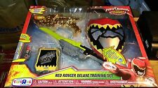 Power Rangers Dino Charge Red Ranger Deluxe Training Set TRU Exclusive New