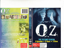 OZ.1997/2003-TV Series USA-Complete Second Season-3 Disc Set-DVD