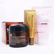 MIZON All In One Snail Repair Cream 75ml+Gel Cream 45ml+Repair Eye Cream 15ml