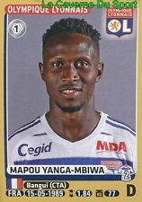 204 YANGA-MBIWA # OL OLYMPIQUE LYONNAIS AS.ROMA STICKER PANINI FOOT 2016