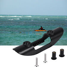 Black Plastic Inflatable Dinghy Kayak Boat Paddle Clip Storage Holder Accessory