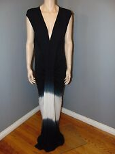 Size Small Young Fabulous and Broke YFB Maxi Dress Black Sumatra Ombre NEW $242