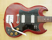 "TEISCO Kawai ""Sekova"" SG E-Gitarre - Made in Japan -  rare vintage"