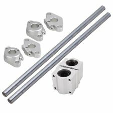 300mm Vertical 12mm Linear Motion Ball Bearing Slide Bushing Shaft Optical Axis