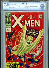 X-Men #28 1966 Silver Age Marvel Comics CBCS Graded 7.0 FN/VF 1st Banshee & Ogre
