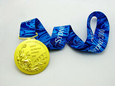 Sydney 2000 Olympic Winners Gold Medal With Ribbon 1:1 Full Size