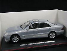 Maisto Mercedes-Benz S-Class 1:18 Silver (JS)