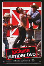JACKASS: NUMBER TWO Movie Promo POSTER H Johnny Knoxville Bam Margera Steve-O