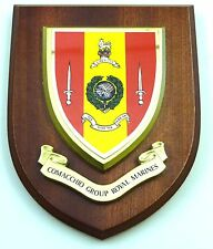 COMACCHIO GROUP ROYAL MARINES CLASSIC HAND MADE  REGIMENTAL MESS PLAQUE