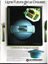 Publicité Advertising 1987 La Cocotte Le Creuset