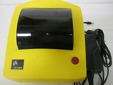 Zebra LP 2844 Label Thermal Printer Yellow Color With Power Supply USB cable