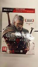 The Witcher III 3 Wild Caccia NO GIOCO vuoto per PC scatola di cartone copertina