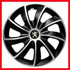 "4x14"" Wheel trims Wheel covers fit Peugeot 106 107  14"" full set"