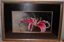 Beautiful Flower David Gill Signed/Numbered LTD ED LITHOGRAPH Price To Sell Now