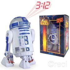 NEW Star Wars r2-d2 proiezione Sveglia con Suono posa Gambe & Testa Ufficiale