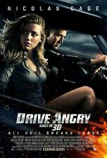 Drive Angry Double Sided Original Movie Poster 27x40 inches
