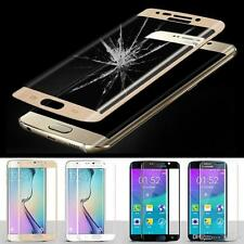 FULL COVERED 3D TEMPERED GLASS LCD SCREEN PROTECTOR FOR SAMSUNG GALAXY S6 EDGE