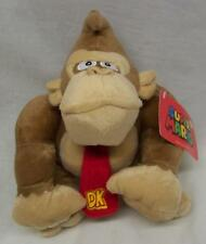 "Nintendo Super Mario Brothers DONKEY KONG 7"" Plush STUFFED ANIMAL Toy NEW"