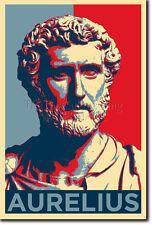 MARCUS AURELIUS ART PHOTO PRINT (OBAMA HOPE PARODY) POSTER GIFT ROMAN EMPEROR