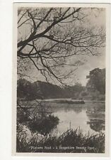 Fishers Pond 1953 RP Postcard Hampshire 261a