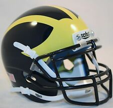 MICHIGAN WOLVERINES - Schutt XP Mini Helmet