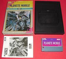 MSX Planete Mobile [EUR] RARE HAL Jeu Sony Canon NO Super Nintendo  *JRF*