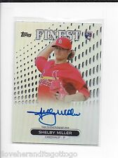 2013 Topps Finest Refractor Shelby Miller Autograph #RA-SM ROOKIE