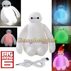 New Big Hero 6 Baymax Action Color Changing USB Night Light LED Table Desk Lamp