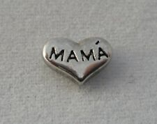 Mama Family Heart Floating Charm for Glass Living Memory Lockets 2014 Charms