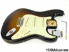 LOADED Vintage 60s Road Worn Fender Strat BODY Stratocaster Relic Sunburst
