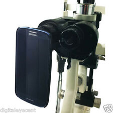 New Slit Lamp Eyepiece Digital Adapter for Samsung Galaxy S5. Include 3 sleeves!