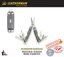 Leatherman GRAY MICRA AL HANDLE MINI-TOOL 64380101K