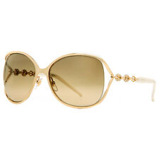 Gucci GG 4250/N/S J5G ED Gold White Women's Oversized Soft Square Sunglasses