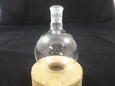 Adams & Chittenden Glass 125mL Round Bottom Single Neck Flask 14/20 Joint