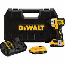 Dewalt DCF886D2R 20V MAX XR Cordless Brushless Impact Driver Kit Reconditioned