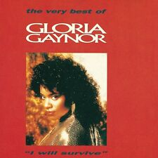 "GLORIA GAYNOR ""I WILL SURVIVE-THE VERY BEST OF"" CD NEU!"