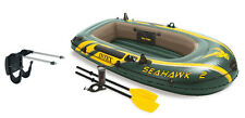 Intex Seahawk 2 Inflatable Boat Set + Oars/Pump/Motor Mount | 68347EP + 686