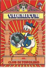 VADEMECUM CLUB DI TOPOLINO RARO !!!!