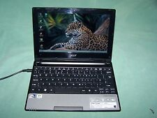 Acer Aspire One D255 Intel Atom N550 double cœur 2 go 250 go mini portable win 7