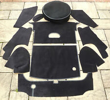 MGB ROADSTER NEW FULL BOOT CARPET SET WITH SPAREWHEEL COVER