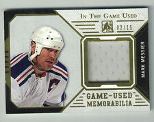 2015 In The Game Used Memorabilia ITG MARK MESSIER GUJ-MM1 /15 Free Shipping